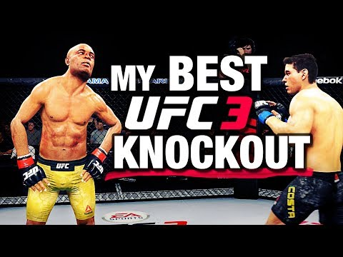 My BEST UFC 3 KNOCKOUT to Date!