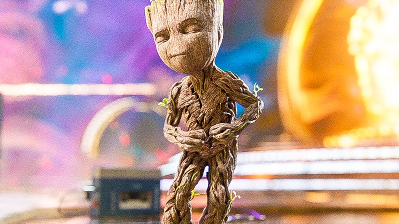 Baby Groot Dance Opening Scene - GUARDIANS OF THE GALAXY 2 (2017) Movie Clip