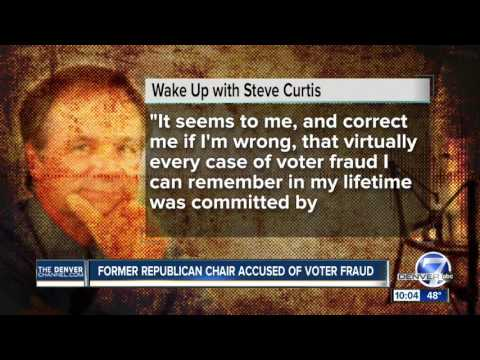 Former Colorado GOP chairman Steven Curtis charged with voter fraud