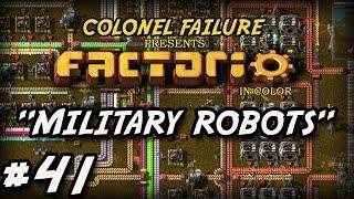 Factorio #41 : Construction Robots Go To War