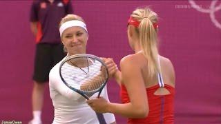 Maria Sharapova vs Sabine Lisicki 2012 London Highlights