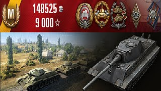 World of Tanks - E-50 Ausf. M | 12464 Damage & Ace Tanker