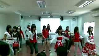Telok Kurau seconday school class 5n1  (National day performance) Girls