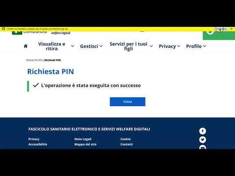 Carta Regionale dei Servizi: come richiedere e ottenere subito il PIN online