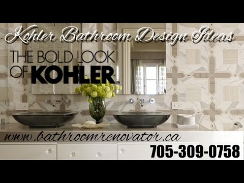 Kohler bathroom design ideas, Kohler Contemporary, Traditional and Eclectic bathrooms Barrie