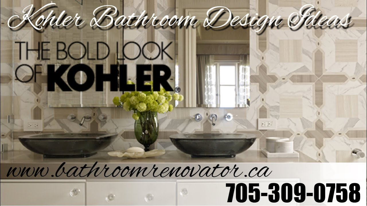 kohler bathroom design ideas kohler contemporary traditional and eclectic bathrooms barrie youtube