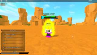 Roblox Dragon Ball Super 2 Fighting Goku And Gohan In SSJ3