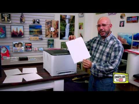 Conde's Ricoh SP C250DN Laser Printer for Transfer Paper -