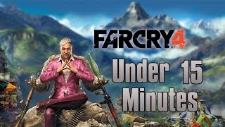 Far Cry 4 Finished  Under 15 Minutes - Easter Egg Alternative Ending