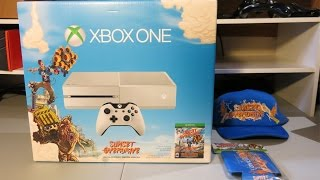 White Sunset Overdrive Xbox One unboxing
