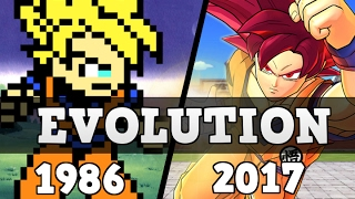 Dragon Ball Games - Evolution (1986 - 2017)