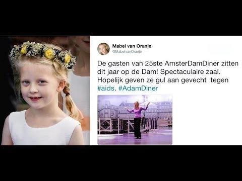 Gravin Zaria  is jarig (11Jaar) - Prinses Mabel niet naar 25ste Amsterdamdiner.