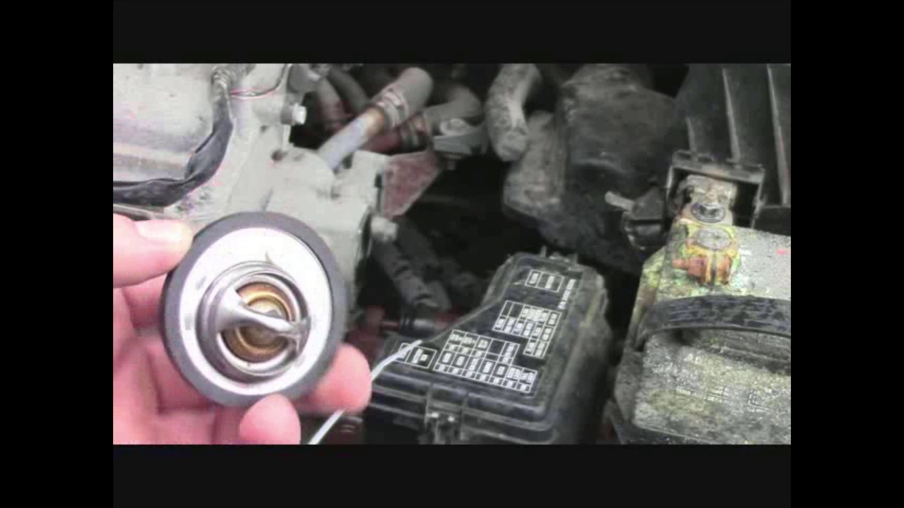 How to: Replace your vehicle's thermostat (2006 Nissan ...