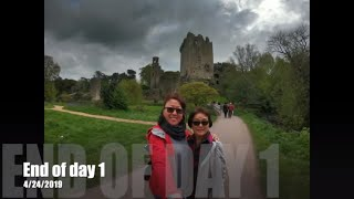 Discovering Ireland 2019 Day 1 Blarney Castle & Stone (4/22 to 5/1/2019)