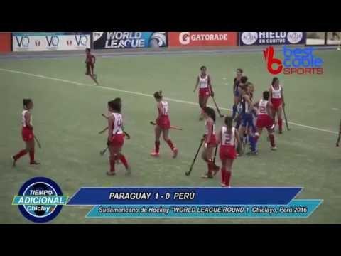 #WorldLeague #Hockey Round 1 #Chiclayo 2016 #Paraguay 1-0 #Perú DAMAS