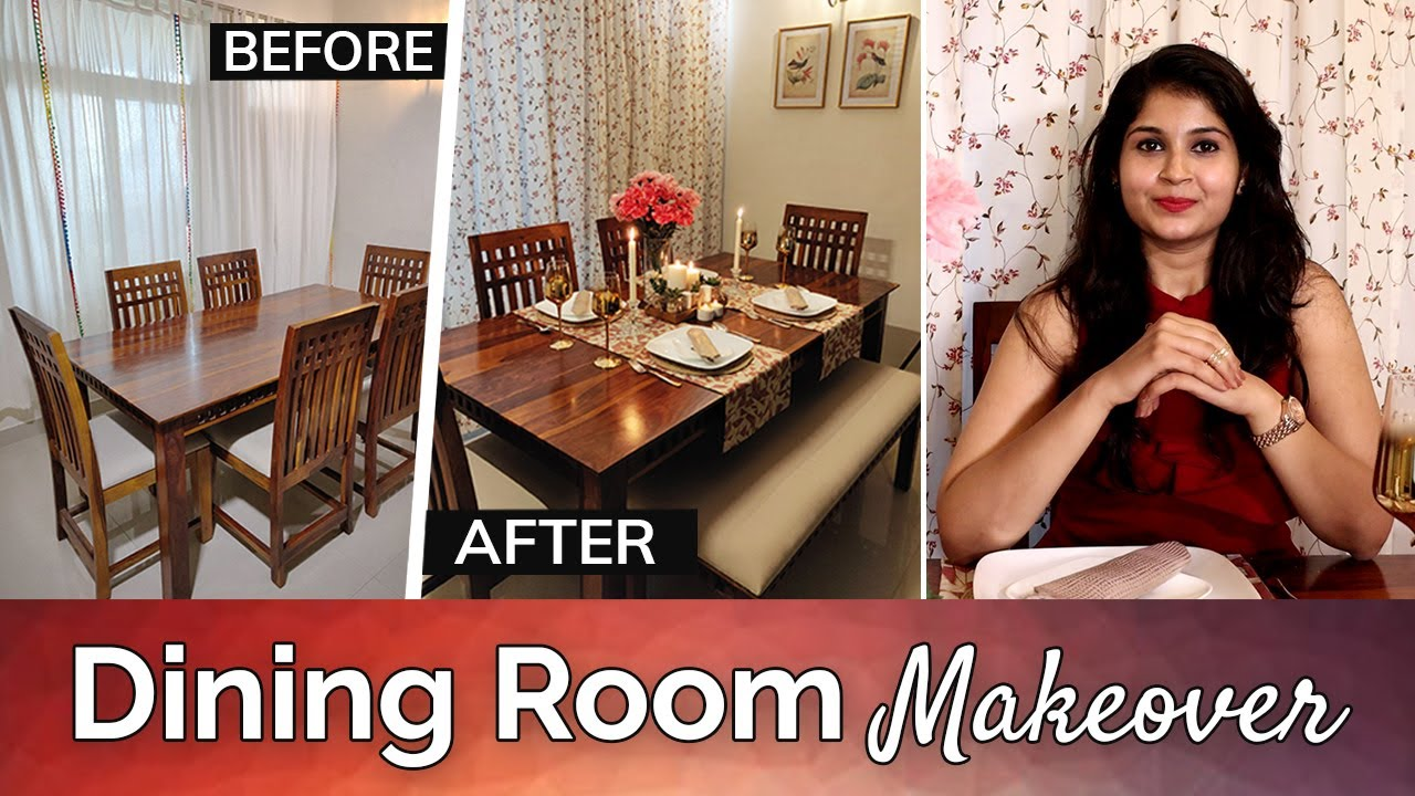 Best Dining Room Decorating Ideas 2019 Dining Room Makeover Timeless Homes Trendy Makeover Youtube