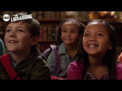 The Librarians: The Stone Song by Christian Kane [CLIP] | TNT