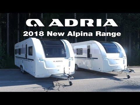 2018 New Adria Alpina Range Product video