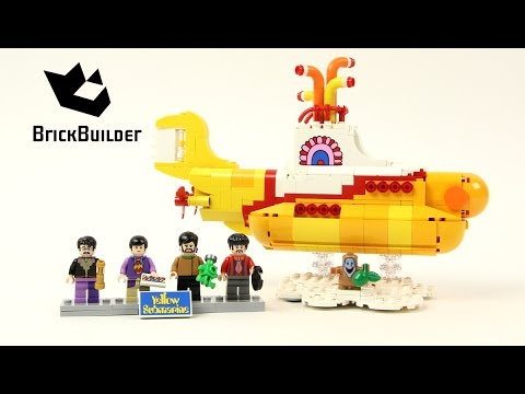 Lego Ideas 21306 The Beatles Yellow Submarine - Lego Speed Build