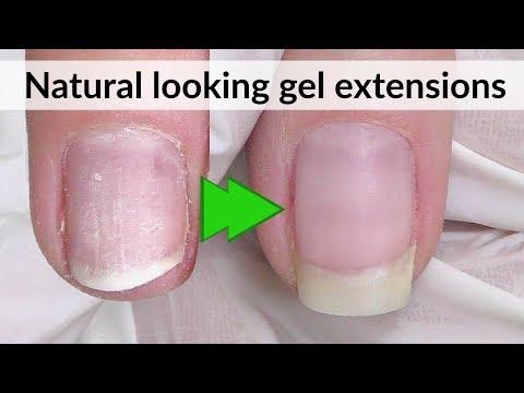 Natural Looking Gel Nail Extensions | Bio Sculpture Gel Review