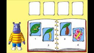 """Обучающее видео """"Страна знаний"""".  Узнаем как растут  помидоры. Как появляются цыпленок и бабочка."""