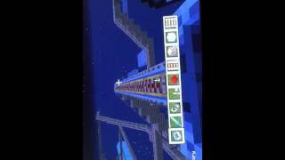 Awesome Minecraft roller coaster