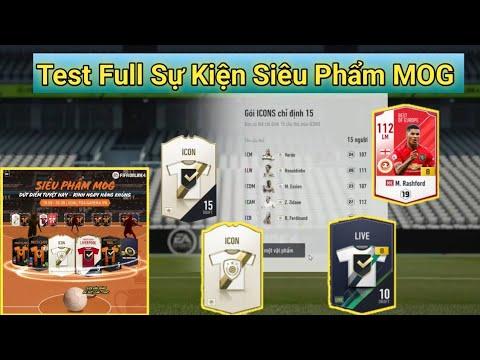 [FIFA Online 4] : 36k FC Test Full Sự Kiện Siêu Phẩm MOG & Hóa Vàng M. Rashford BOE +8 Và Cái Kết??