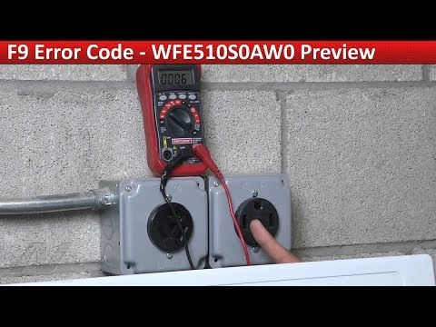 F9 Error Code - Whirlpool ,  KitchenAid  & Kenmore Range - Repair & Diagnostic
