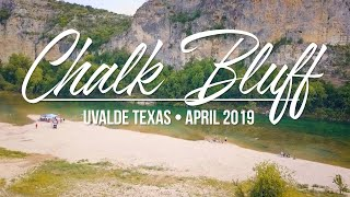 Chalk Bluff Park -  Camping and Swimming in Uvalde, Texas (April 2019) #ChalkBluff