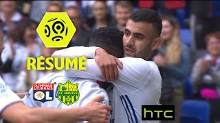 Olympique Lyonnais - FC Nantes (3-2)  - Résumé - (OL - FCN) / 2016-17
