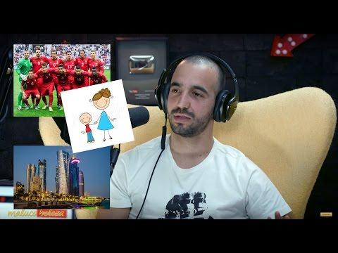 """Maluco Beleza - """"As pessoas não têm ideia da qualidade de vida no Qatar """" -  Ruben Amorim"""