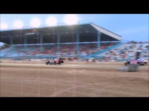 Clay County Fair Grounds on August 14th in the year of racing 2014