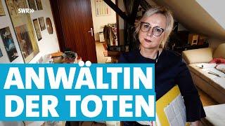 Die Erbenermittlerin: Was vom Leben bleibt | Mensch Leute | SWR Fernsehen