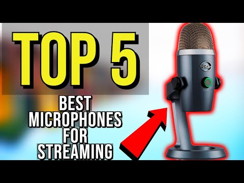 ✅ TOP 5: Best Microphone For Streaming 2019