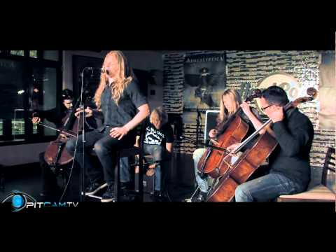 Apocalyptica - Not Strong Enough [Live Acoustic Hard Rock Cafe]