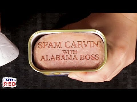 Alabama Boss Carves Spam for Its 80th Birthday
