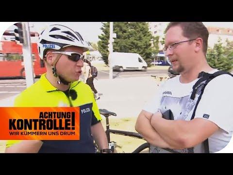 Fahrradpolizei im Einsatz: Was erwartet den Rot-Fahrer? | Achtung Kontrolle | kabel eins
