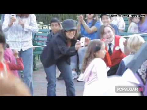 Salma Hayek & Daughter Valentina Pinault at Disneyland
