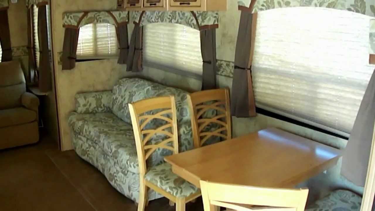 2009 Chaparral 278 Ds 5th Wheel Travel Trailer King Size