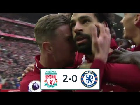 Ливерпуль - Челси 2-0 обзор матча