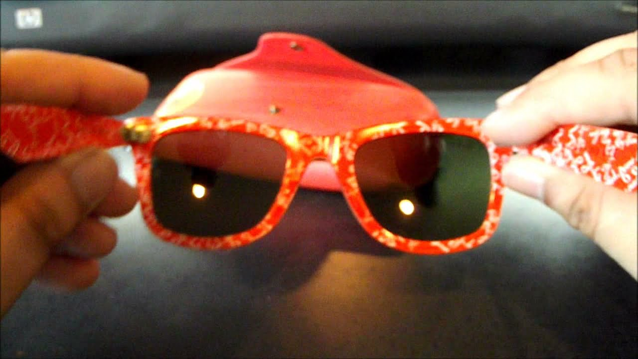 Ray Ban Red Case
