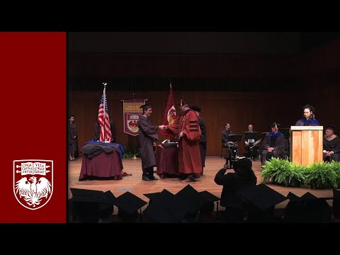 Physical Sciences Division Diploma and Hooding Ceremony, Spring 2017