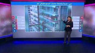 أوكرانيات عاريات على شرفة في دبي يثرن ضجة