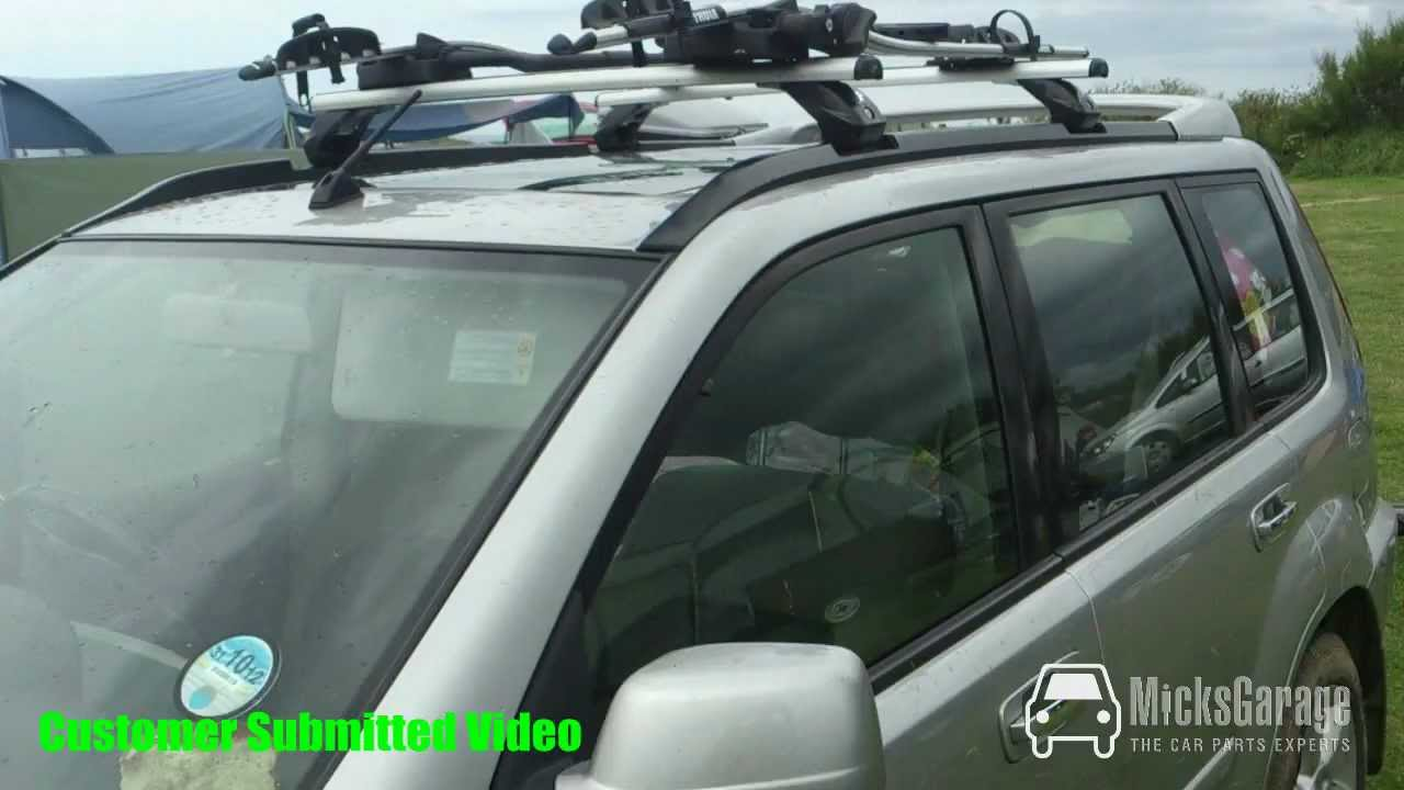 Nissan Xtrail Roof Rack Customer Submitted Video