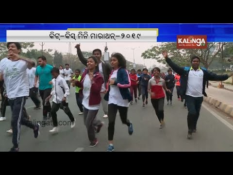 Bhubaneswar: Students, Volunteers actively participate in KIIT, KISS Mini-Marathon 2019 | Kalinga