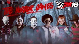 WWE2k19 Horror Movie Icons