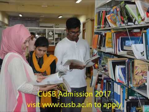Central University of South Bihar (CUSB) Admission 2017 - 18