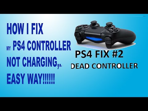 easy fix ps4 controller.not charging.TOTALLY WORKS 100%