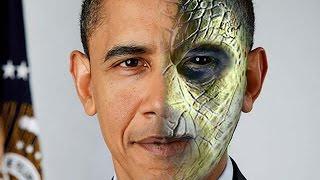 Shapeshifting TV Terrorist - Reptilian/Djinn B.Obama