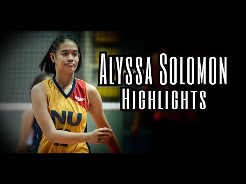 ALYSSA SOLOMON (RVL HIGHLIGHTS) Philippine Volleyball   Bon Lirasan
